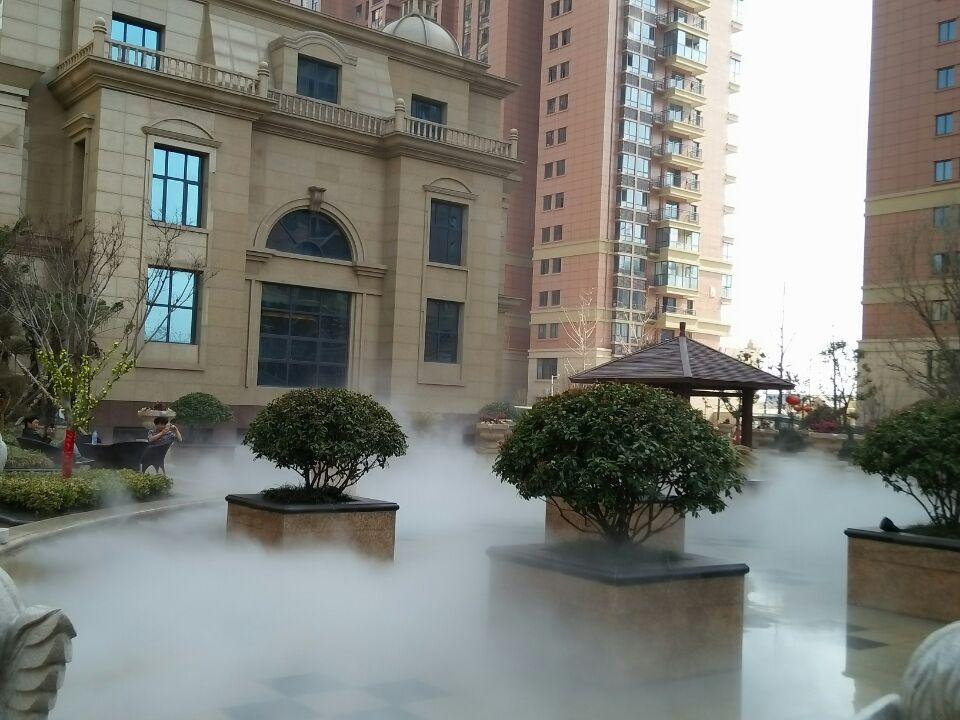 中岳七里香堤雾森系统