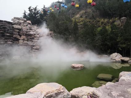 黄河游览区雾森系统