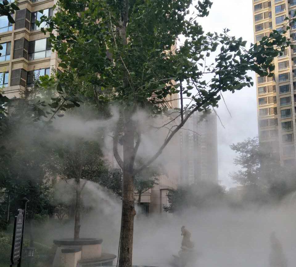 盛润锦绣城雾森系统
