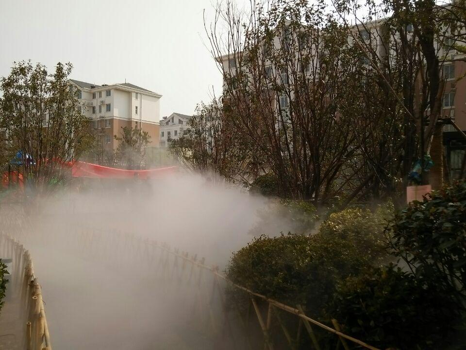 盛润四季花城雾森系统